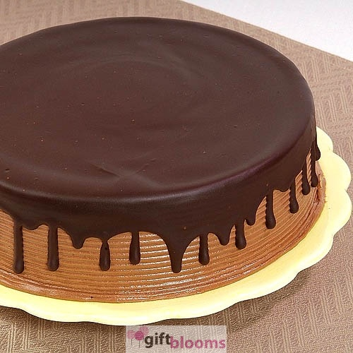 7 Inch Chocolate Downpour Cake - [US_CHOCO_92]